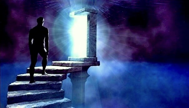 Stairs to The Door of Light