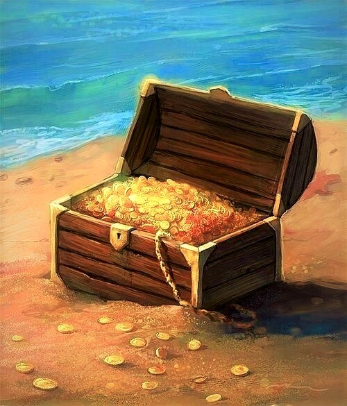 Treasure On The Shore
